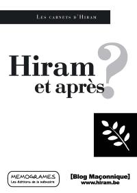 Hiram et après ?