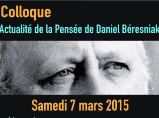Colloque Daniel Beresniak