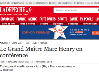 Marc Henry à Albi