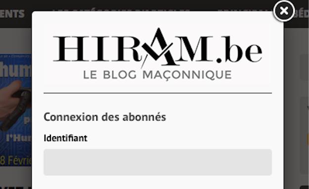 la nouvelle procédure d'abonnements à Hiram.be