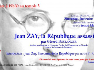 Jean Zay, la République assassinée