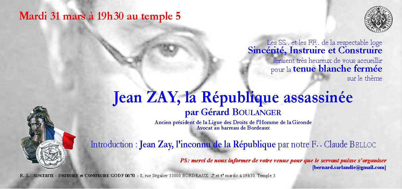 Jean Zay, la République assassinée