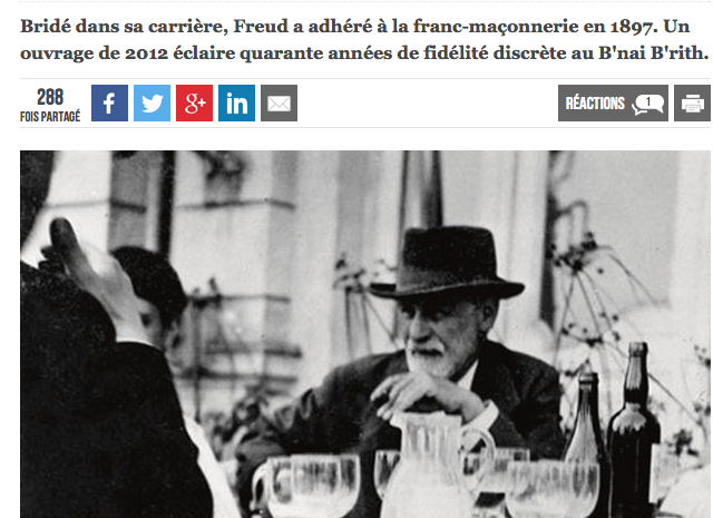 Freud franc macon leVif.be