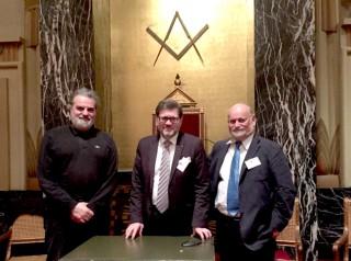 Pierre Mollier, Roger Dachez et Dominique Jardin