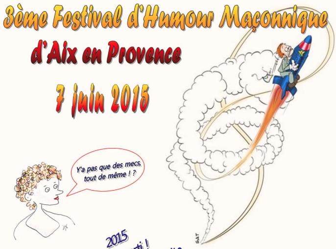 Festival humour Aix2015