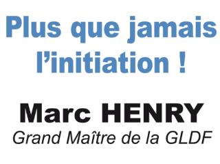 conférence Marc Henry