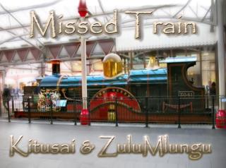 le train qu'a raté Zulu Mlungu...