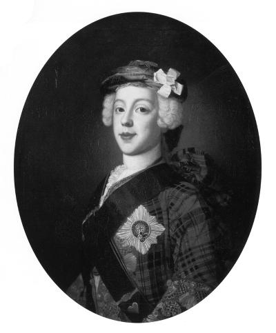 Charles Edouard en 1748