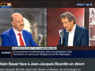 Alain Bauer sur BFM TV