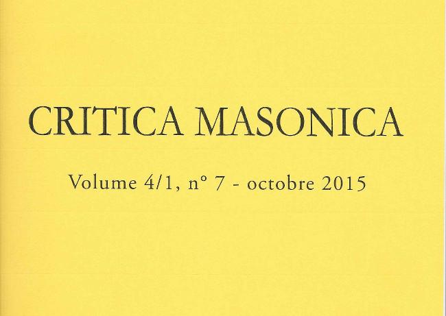 Critica Masonica 7