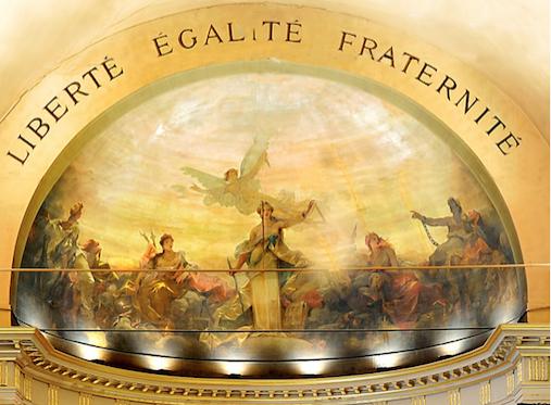 fronton Liberte_Egalite_Fraternite