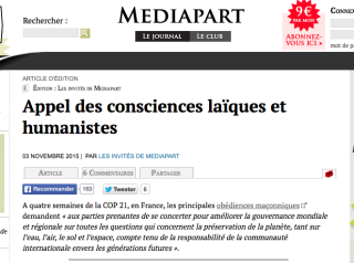 Appel des consciences
