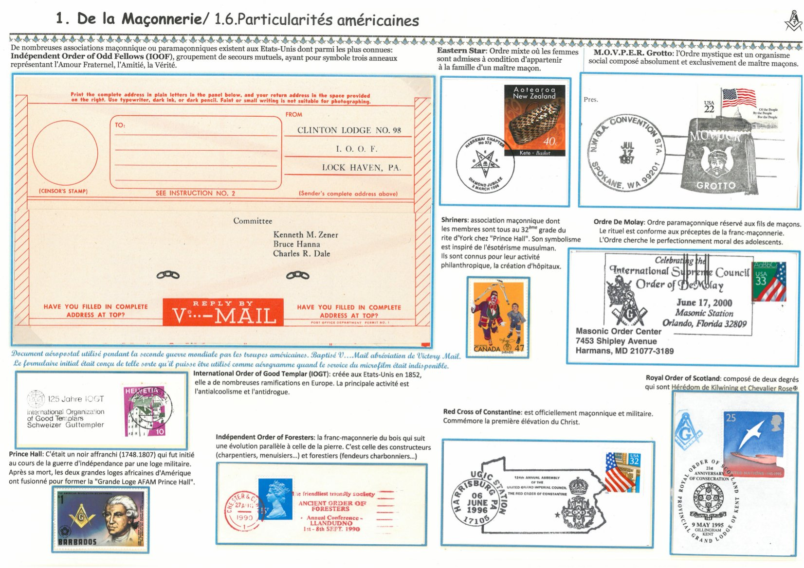 timbres 6