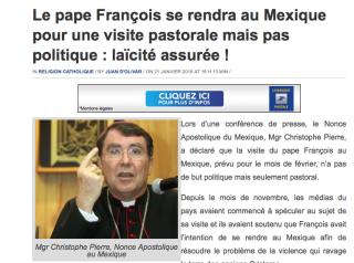Francois au Mexique