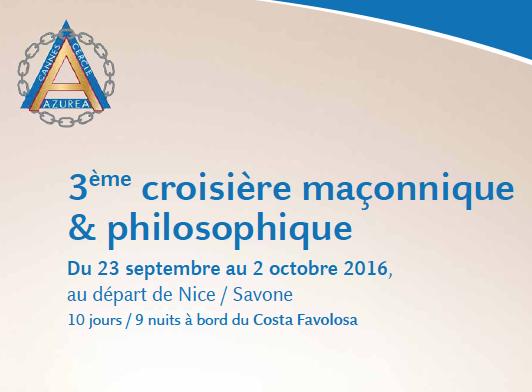 3e croisiere maconnique