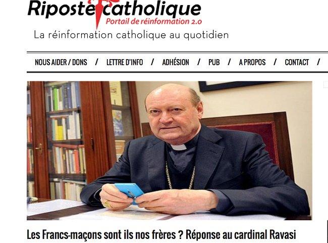 Cardinal Ravasi