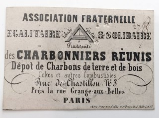 fraternelle charbonniers