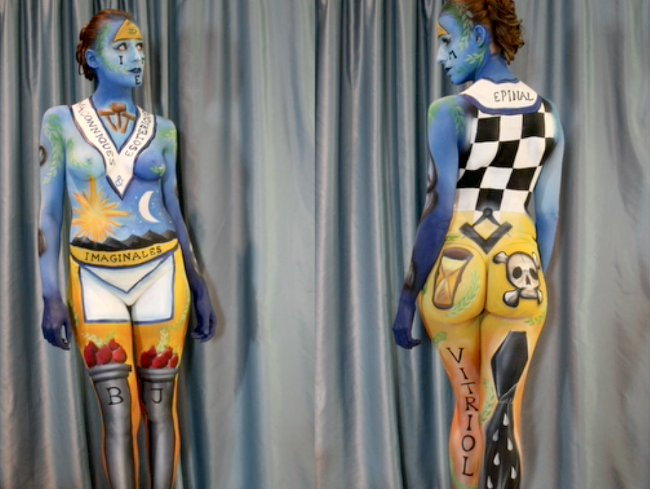 BodyPainting IME2016