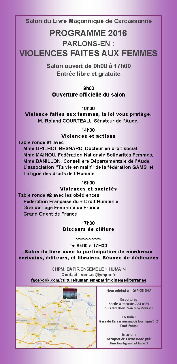 Le 18 juin 3e salon du livre ma onnique de for Salon du taf carcassonne