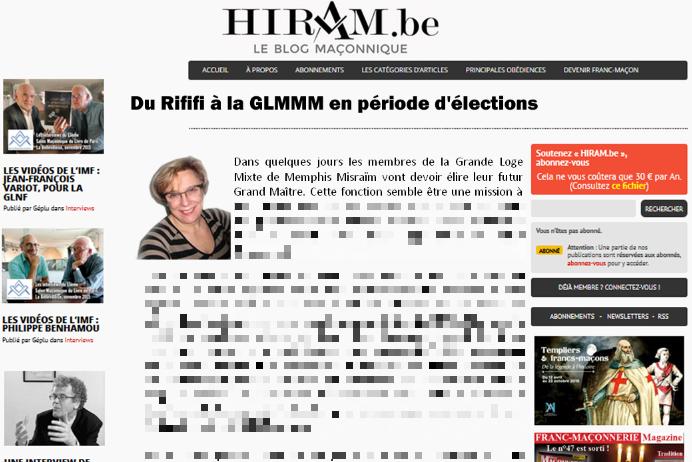 faux article Hiram_GLMMM