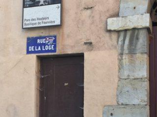 rue de la loge Lyon