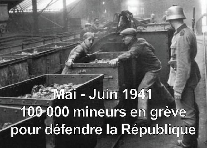 greve mineurs 1941