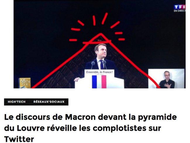 Macron Illuminati