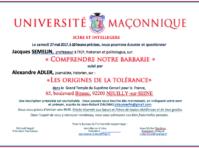Universite maconnique 270517