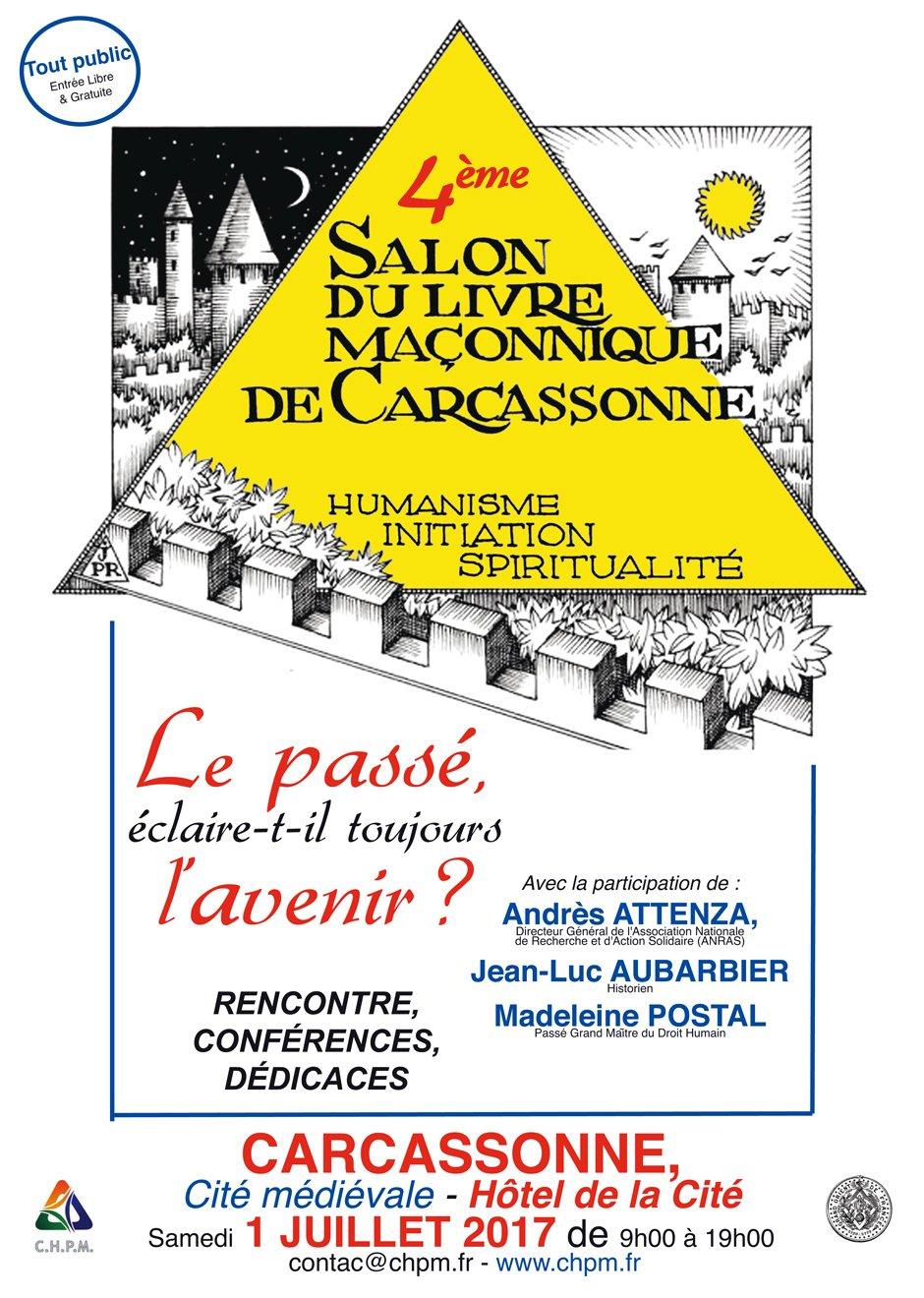 4e salon du livre ma onnique de carcassonne for Salon du taf carcassonne