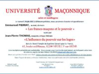Univ maconnique 240617