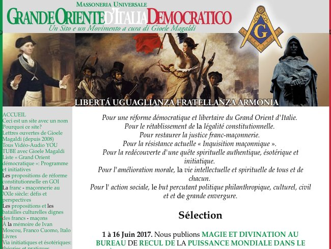 GO Democratique Italie