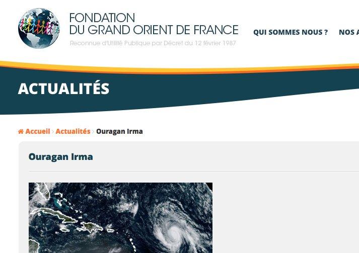 FondationGODF Irma