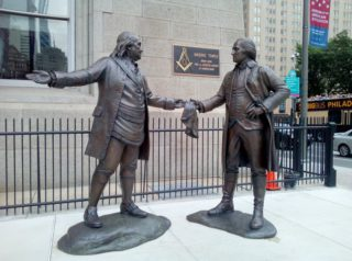 Washington et Franklin