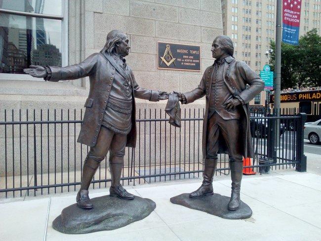Washington et Franklin