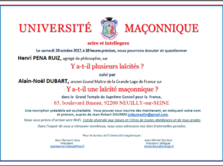 Université Maçonnique