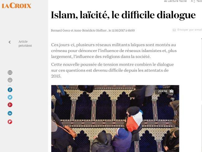 Islam, laicite