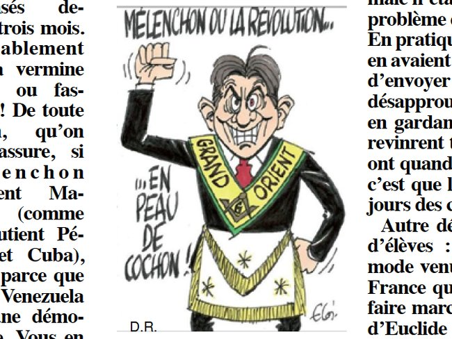 Melenchon Rivarol