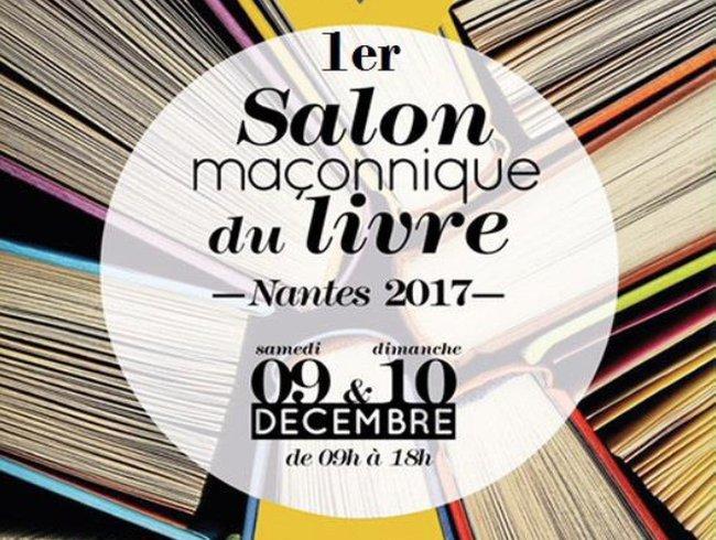 Le premier salon ma onnique du livre de nantes for Salon du livre montreuil 2017