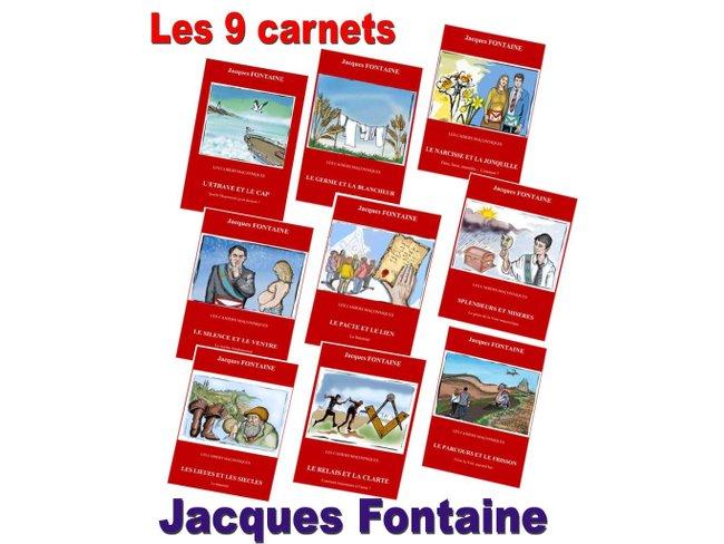 9 carnets J Fontaine
