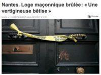 incendie loge de Nantes