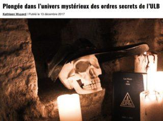 ordres secrets ULB