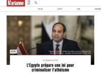 egypte atheisme