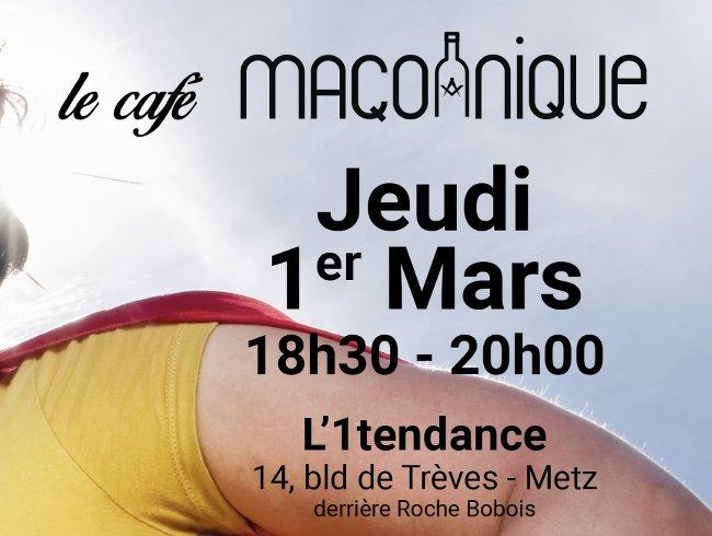 Cafe maconnique 1er mars