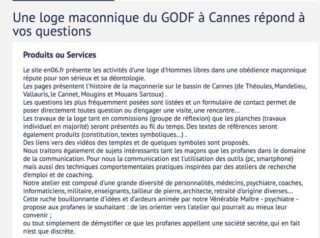 GODF Cannes rank