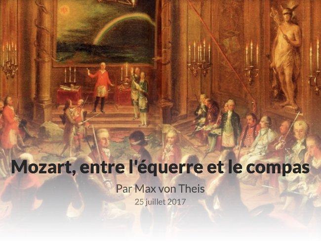 Mozart equerre et compas