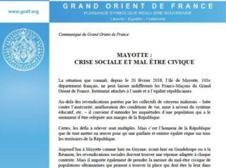 Mayotte GODF 190318