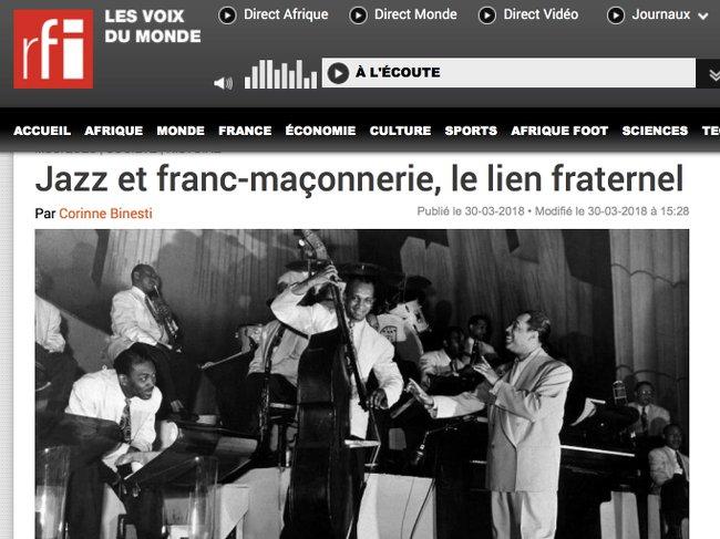 RFI Jazz et FM 300318