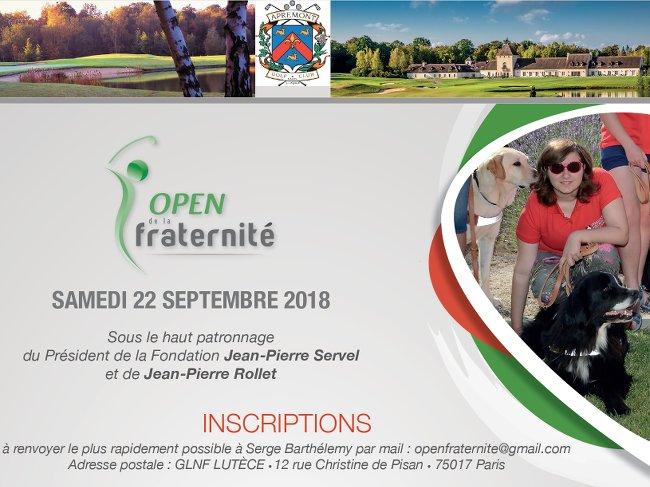 open de la fraternite 2018