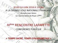 4e Rencontre Lafayette
