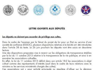 lettre ouverte aux deputes